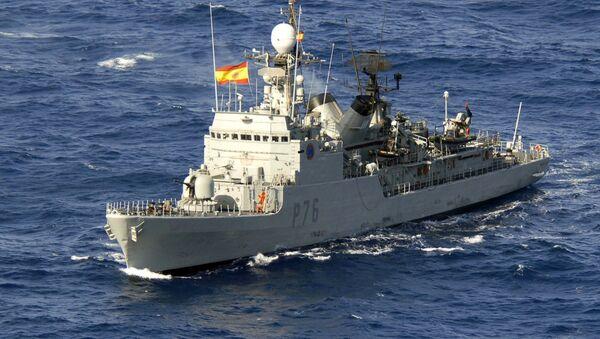 La corbeta española Infanta Elena - Sputnik Mundo