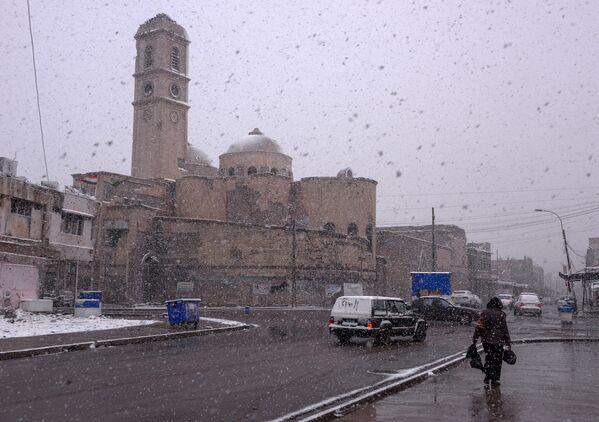 La católica Iglesia de Nuestra Señora de la Hora en Mosul, febrero de 2020. - Sputnik Mundo