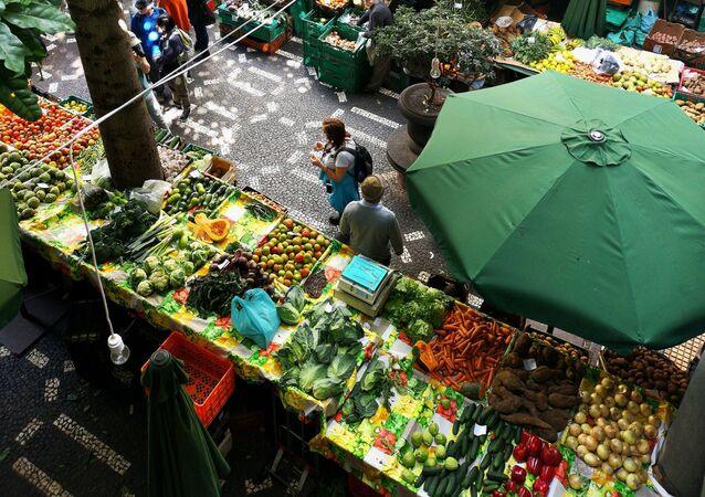 Un mercado (imagen referencial)