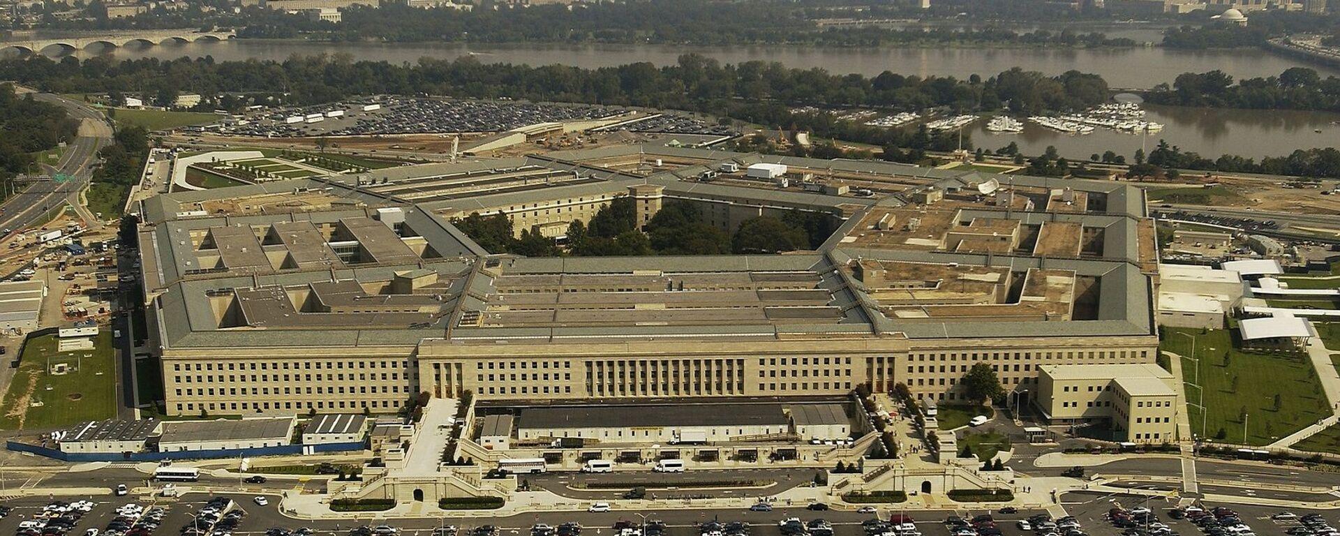 El Pentágono o Departamento de Defensa de Estados Unidos - Sputnik Mundo, 1920, 01.06.2021