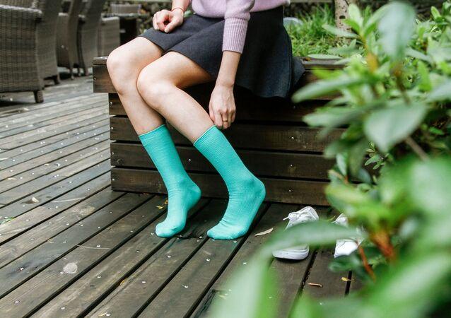 Unos calcetines, imagen referencial