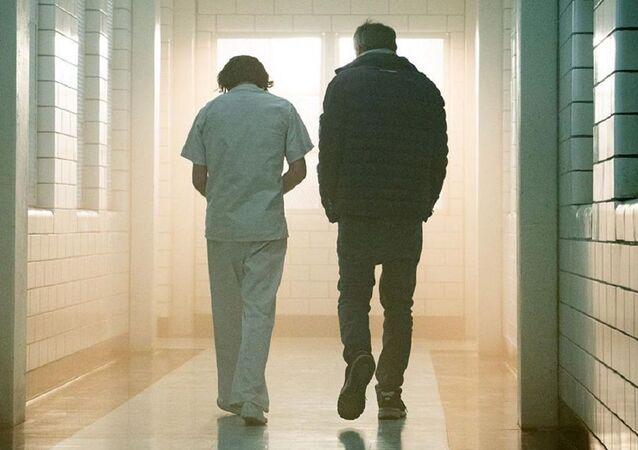 Joaquin Phoenix y Todd Phillips, en el set de 'Joker'