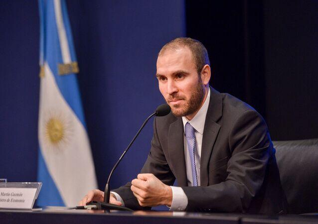 Martín Guzmán, ministro argentino de Economía