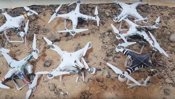 Drones derribados por Drone Dome - Sputnik Mundo