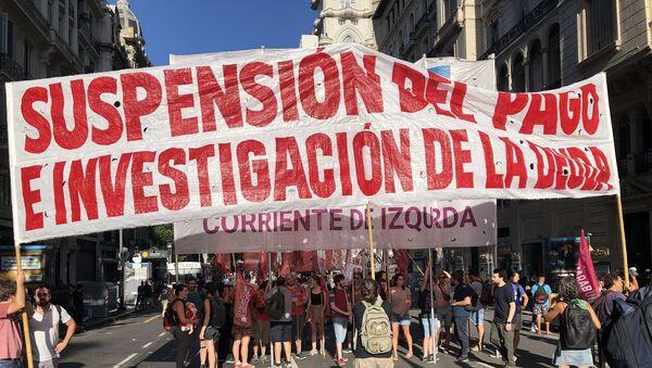 Fuera FMI de Argentina y de toda América Latina - Sputnik Mundo