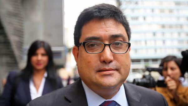 Jorge Ramírez, exprocurador anticorrupción de Pêrú - Sputnik Mundo