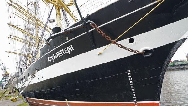 El velero Kruzenshtern - Sputnik Mundo