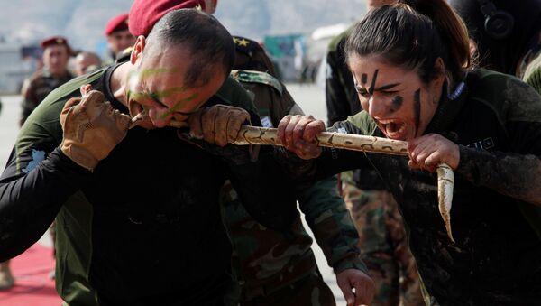 Así entrenan los peshmerga, los voluntarios kurdos que combaten al ISIS - Sputnik Mundo