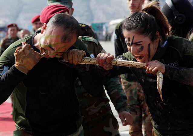 Así entrenan los peshmerga, los voluntarios kurdos que combaten al ISIS