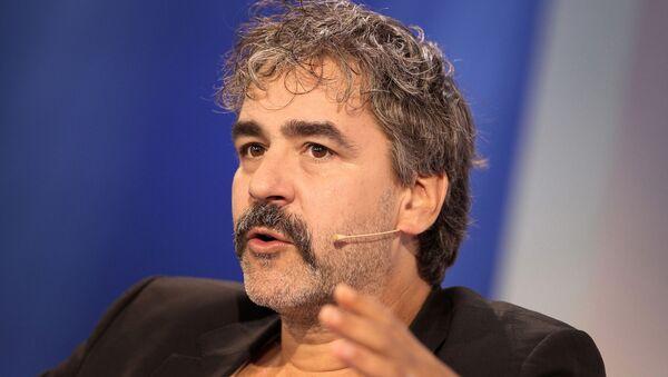 Deniz Yücel, reportero de origen turco del periódico alemán Die Welt - Sputnik Mundo