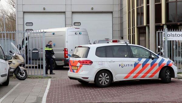 La policía de Ámsterdam - Sputnik Mundo