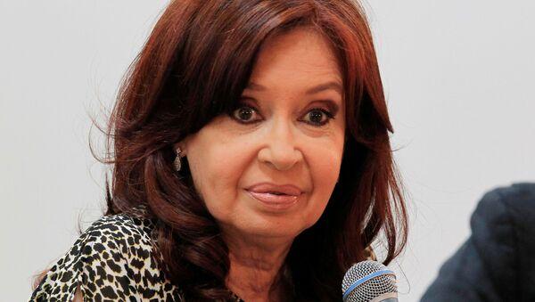 Cristina Kirchner, la vicepresidente argentina - Sputnik Mundo