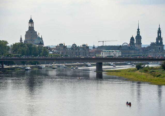 La ciudad de Dresde, referencial