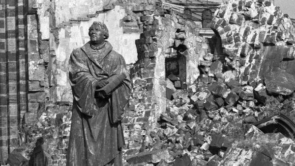 Dresde, destrozada por el bombardeo de 1945 - Sputnik Mundo