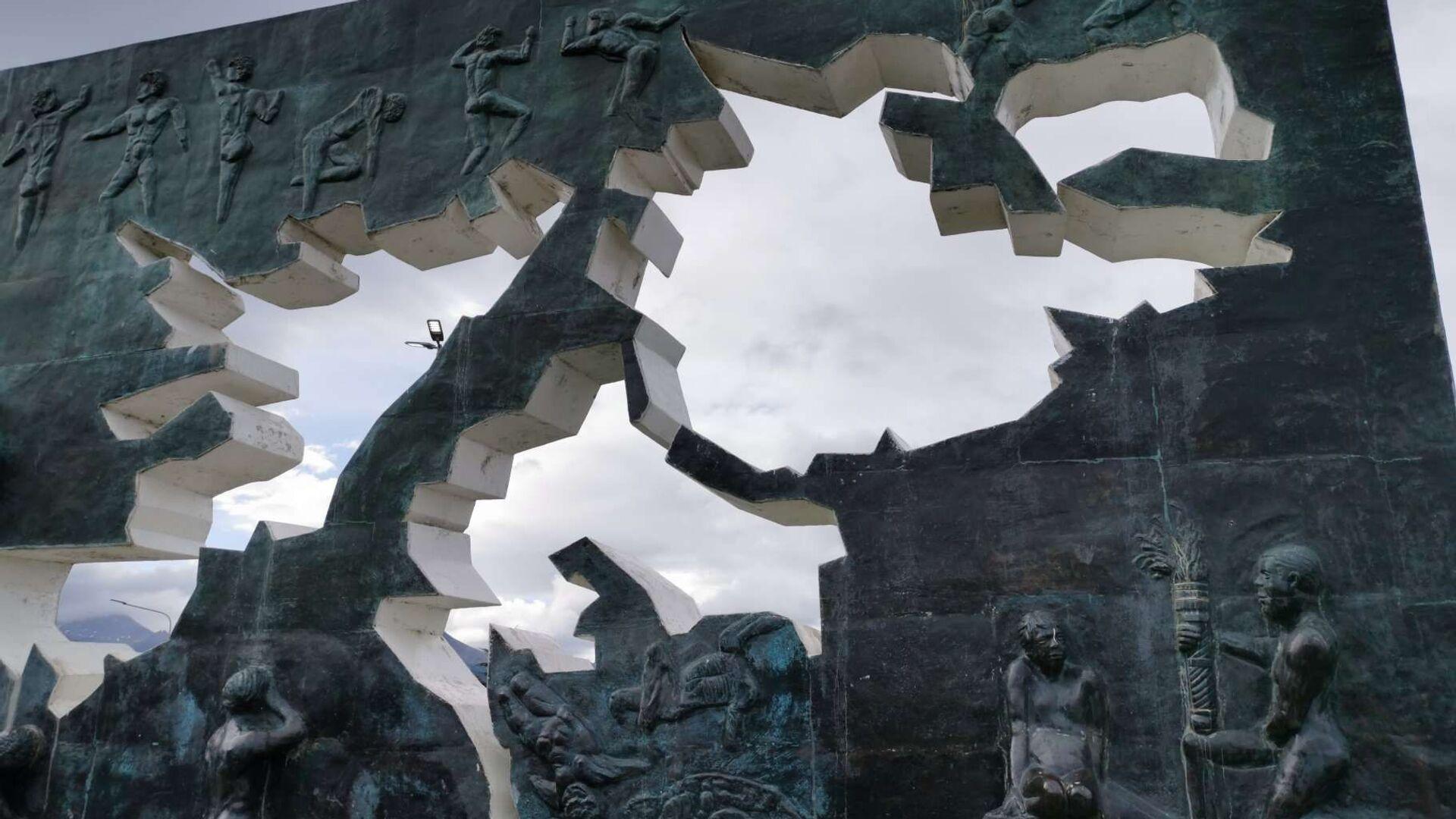 Monumento a los Caídos en Malvinas, en Ushuaia, Argentina - Sputnik Mundo, 1920, 14.06.2021