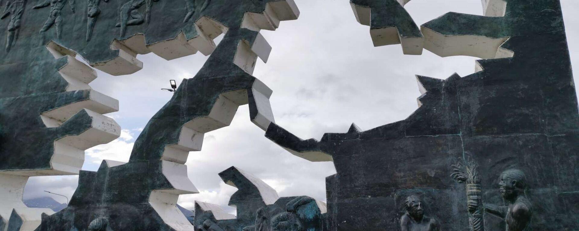 Monumento a los Caídos en Malvinas, en Ushuaia, Argentina - Sputnik Mundo, 1920, 02.04.2021