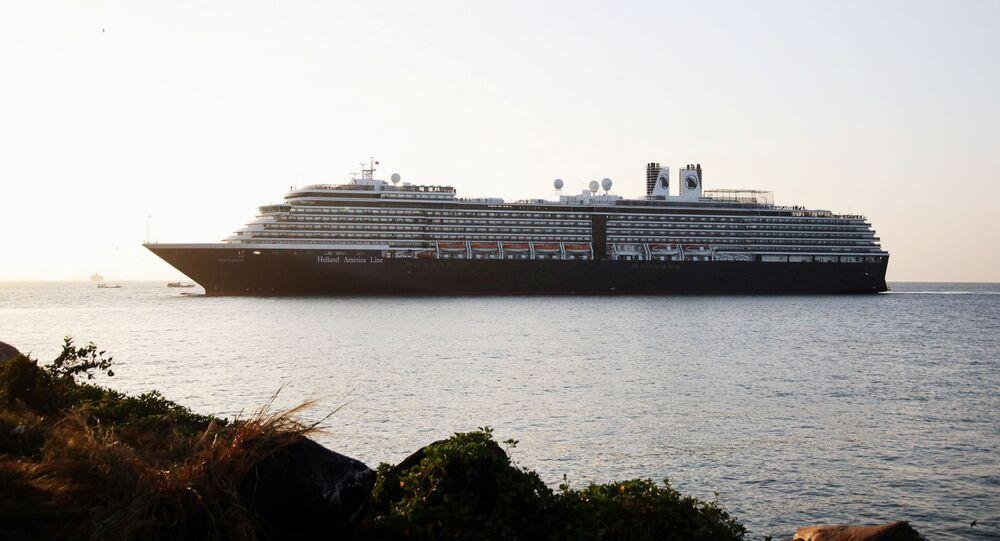El crucero Westerdam