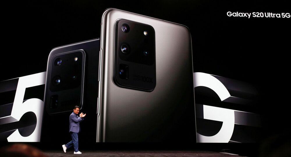 Presentación de los teléfonos Samsung Galaxy S20, S20+ y S20 Ultra en San Francisco, EEUU