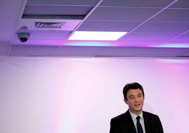 Benjamin Griveaux, un aliado político del presidente Emmanuel Macron