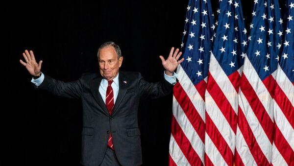 Mike Bloomberg, candidato presidencial de EEUU - Sputnik Mundo
