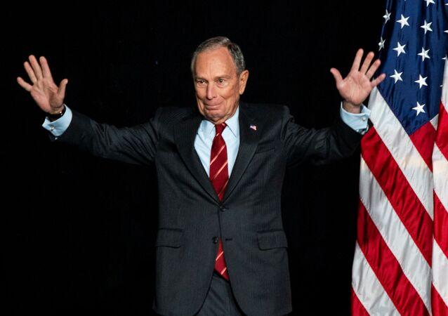 Mike Bloomberg, candidato presidencial de EEUU