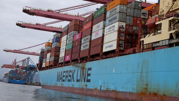 Portacontenedores Maersk Line - Sputnik Mundo