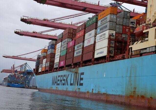 Portacontenedores Maersk Line (archivo)