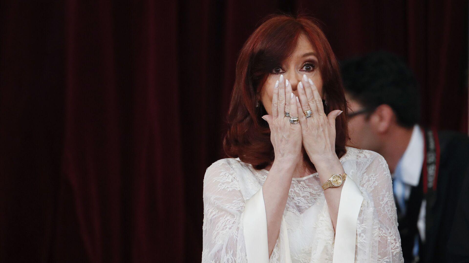 Cristina Fernández de Kirchner - Sputnik Mundo, 1920, 19.03.2021