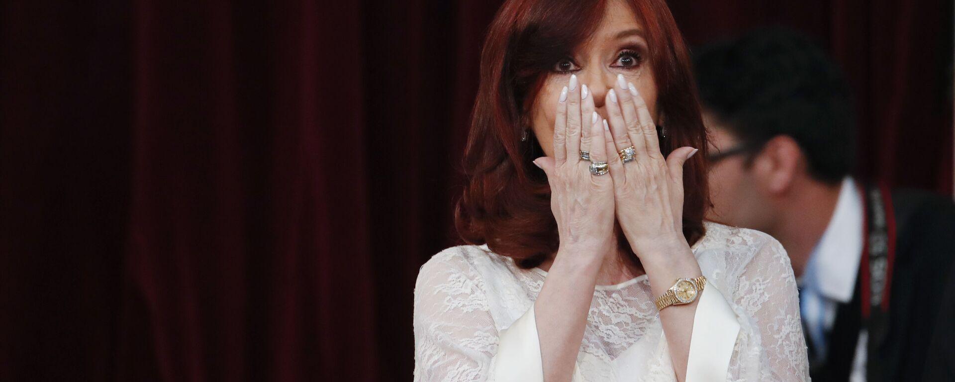 Cristina Fernández de Kirchner - Sputnik Mundo, 1920, 18.08.2021