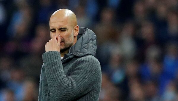 Pep Guardiola, el entrenador catalán del Manchester City - Sputnik Mundo