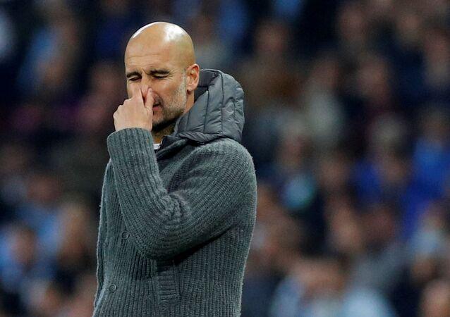 Pep Guardiola, el entrenador catalán del Manchester City
