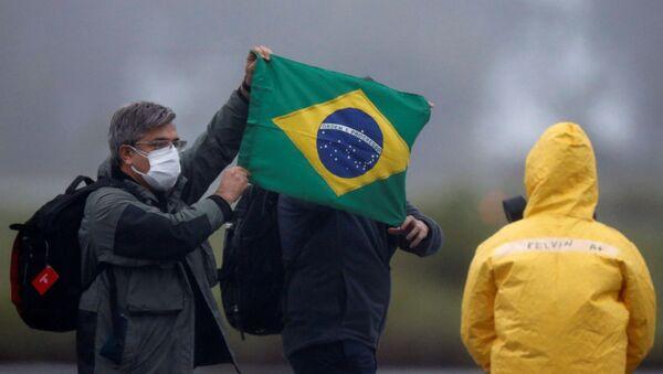 La lucha contra el coronavirus en Brasil - Sputnik Mundo