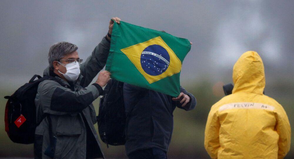 La lucha contra el coronavirus en Brasil