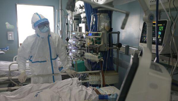 Un hospital chino - Sputnik Mundo