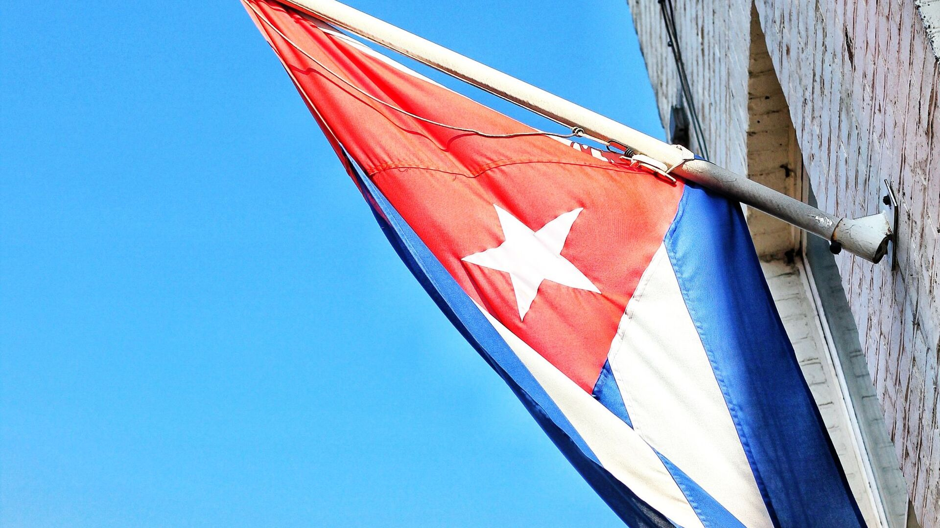La bandera de Cuba - Sputnik Mundo, 1920, 15.04.2021