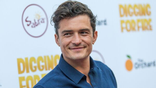 Orlando Bloom, actor británico - Sputnik Mundo