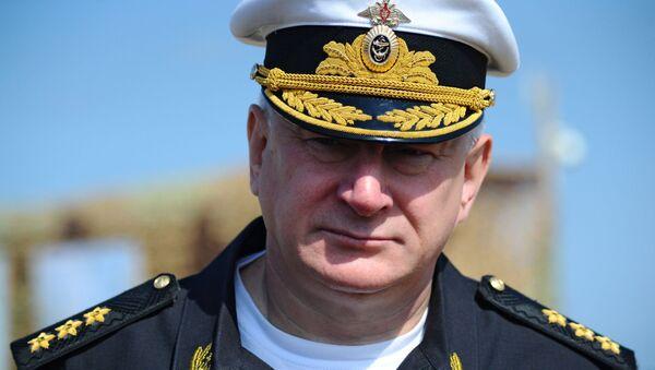 Nikolái Evménov, comandante en jefe de la Armada rusa - Sputnik Mundo