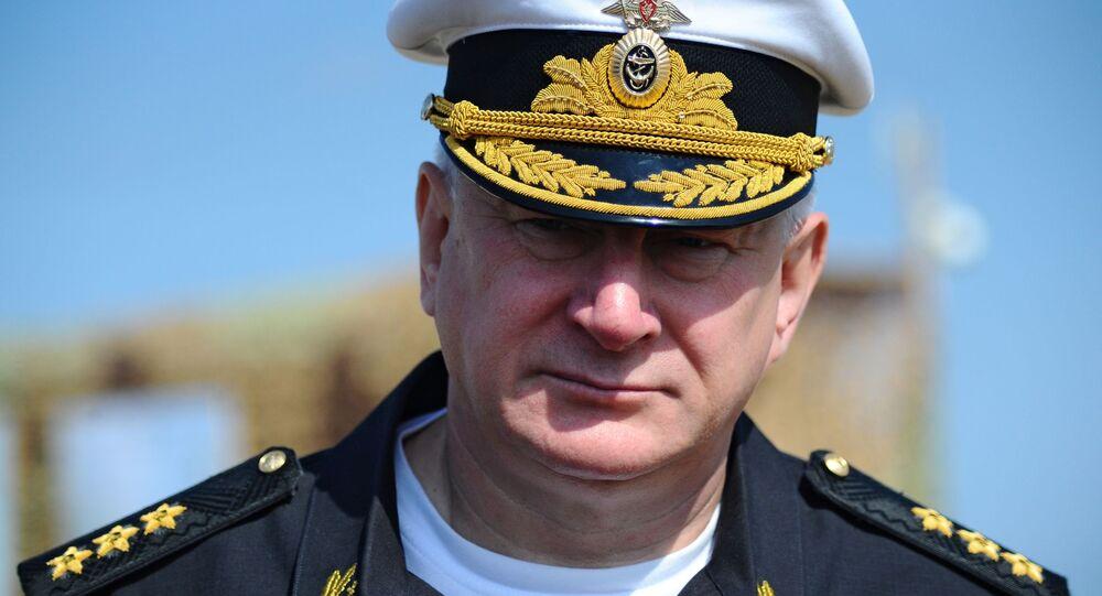 Nikolái Evménov, comandante en jefe de la Armada rusa
