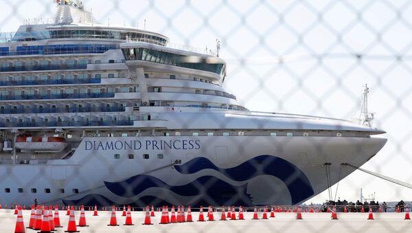 Crucero Diamond Princess - Sputnik Mundo