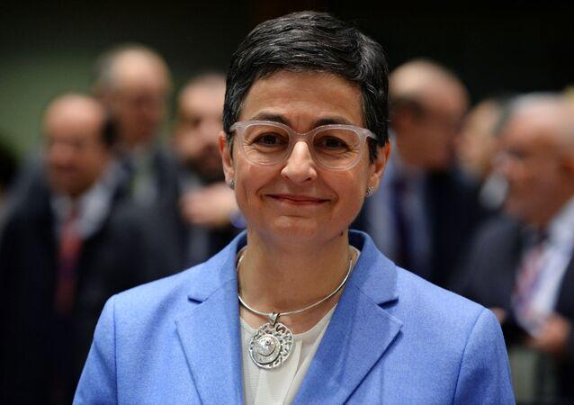 Arancha González Laya, la canciller española