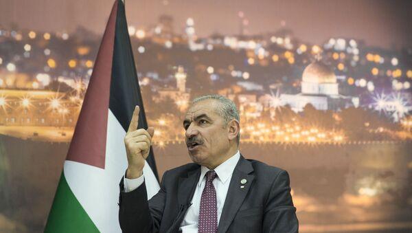 Mohammad Shtayyeh, primer ministro palestino - Sputnik Mundo
