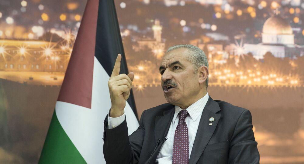 Mohammad Shtayyeh, primer ministro palestino