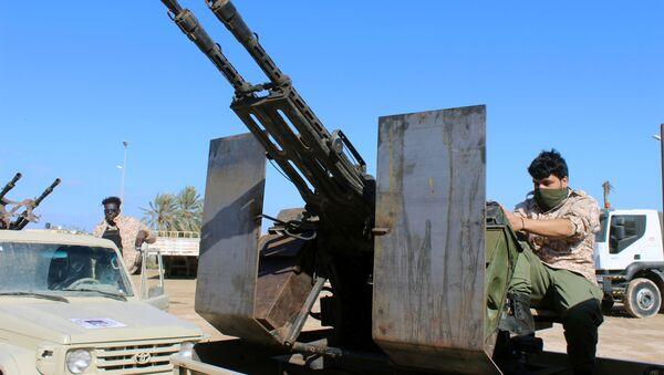 Militares en Libia (archivo) - Sputnik Mundo