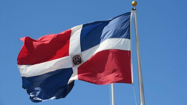 La bandera de la República Dominicana - Sputnik Mundo