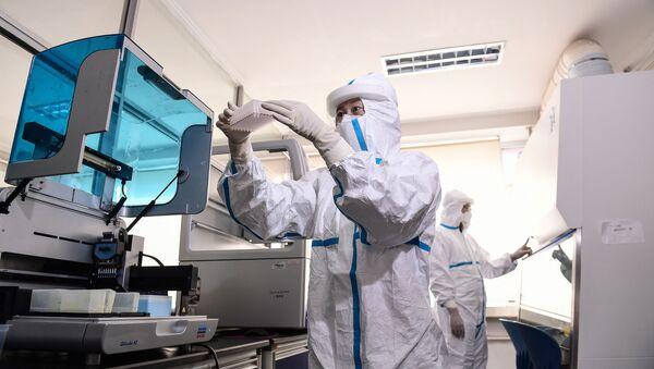 Un laboratorio en China - Sputnik Mundo