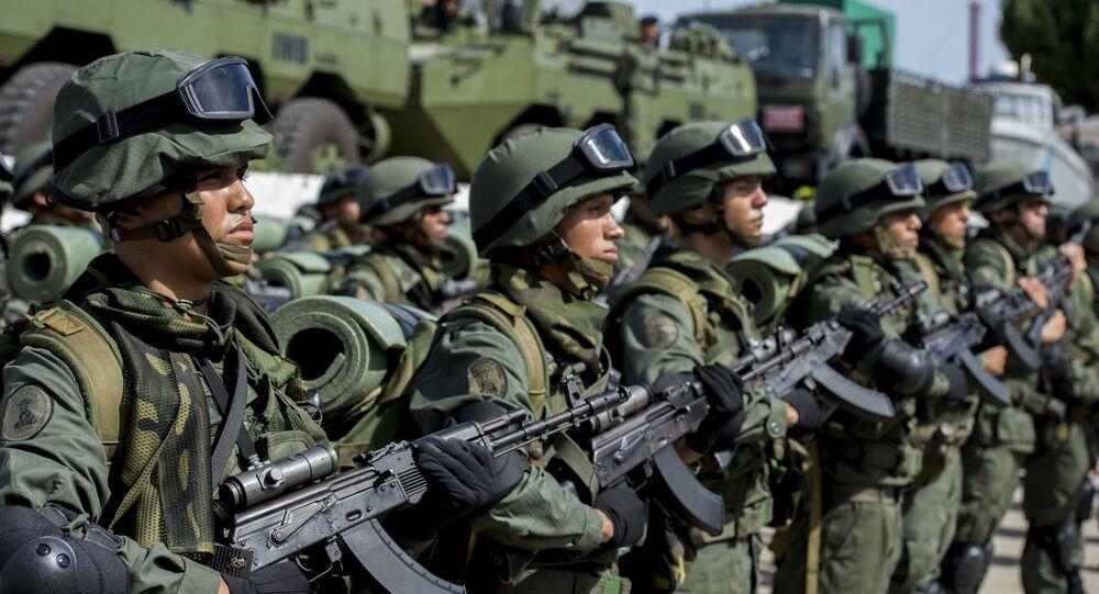 Militares venezolanos