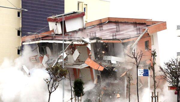 Terremoto en Albania - Sputnik Mundo