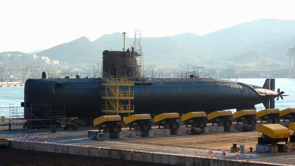 Submarino español S-73 Mistral  - Sputnik Mundo