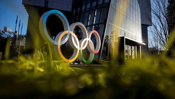 Anillos olímpicos en Tokio - Sputnik Mundo