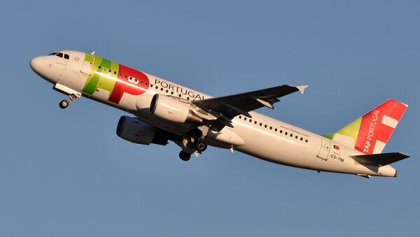 Avión de la aerolínea portuguesa TAP - Sputnik Mundo